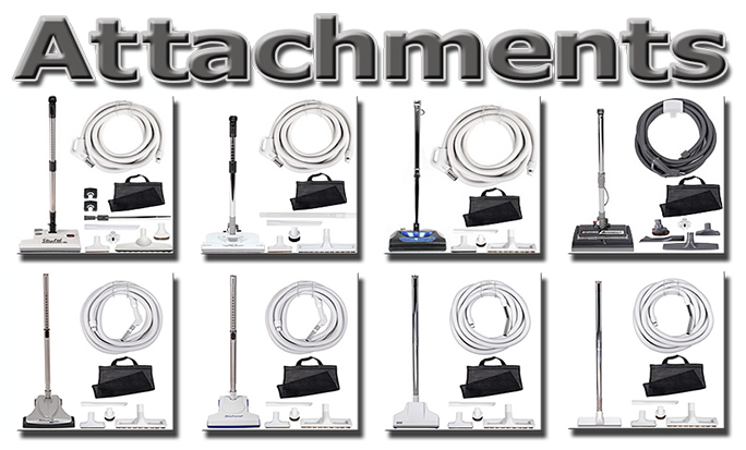 Central Vacuum Systems Attachments